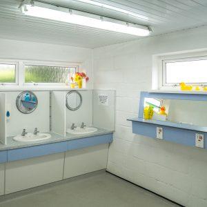 Dibles washroom